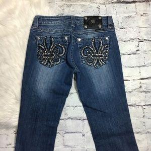 Miss Me Jeans - Miss Me Signature Boot Cut Pocket Detail 30 x 34